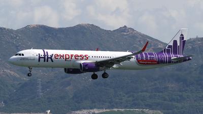 B-LEA - Airbus A321-231 - Hong Kong Express
