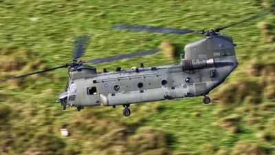 ZK550 - Boeing Chinook HC.6 - United Kingdom - Royal Air Force (RAF)