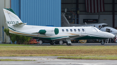 N323JR - Cessna 550 Citation II - Private