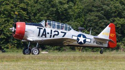 F-AZBE - North American T-6G Harvard 4 - Private