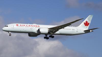 A picture of CFNOI - Boeing 7879 Dreamliner - Air Canada - © Ervin Eslami (uk.jets)