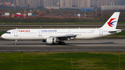 A picture of B2289 - Airbus A321211 - China Eastern Airlines - © ZUCKGYQ