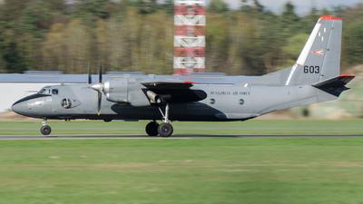 603 - Antonov An-26 - Hungary - Air Force