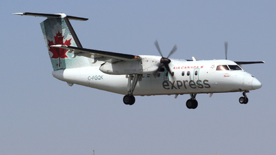 C-FGQK - Bombardier Dash 8-102 - Air Canada Express (Jazz Aviation)