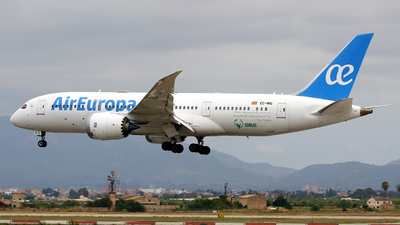 A picture of ECMIG - Boeing 7878 Dreamliner - Air Europa - © Javier Rodriguez - Amics de Son Sant Joan