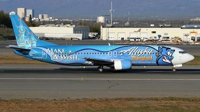 N706AS - Boeing 737-490 - Alaska Airlines