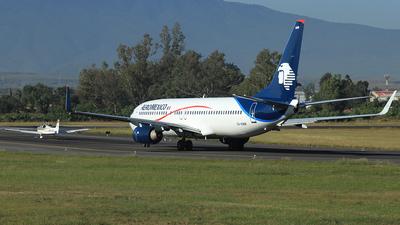 XA-AMW - Boeing 737-8FZ - Aeroméxico