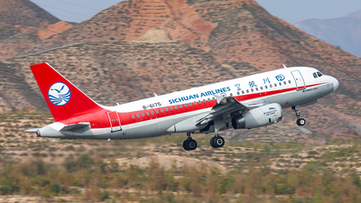 A picture of B6175 - Airbus A319133 - Sichuan Airlines - © Yan Shuai