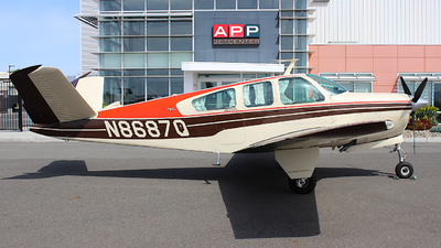 N8687Q - Beechcraft S35 Bonanza - Private