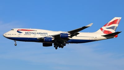 G-BYGD - Boeing 747-436 - British Airways