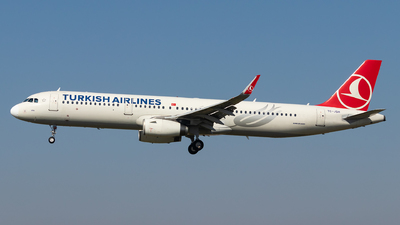 A picture of TCJSH - Airbus A321231 - Turkish Airlines - © Luke Dogan