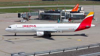 A picture of ECJGS - Airbus A321213 - Iberia - © Alex