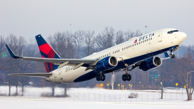 A picture of N3767 - Boeing 737832 - Delta Air Lines - © ColumbusPlaneSpotter