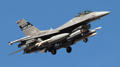 93-0545 - Lockheed Martin F-16CM Fighting Falcon - United States - US Air Force (USAF)