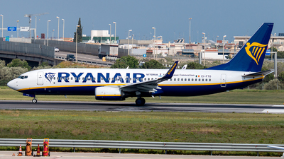 EI-FTO - Boeing 737-8AS - Ryanair - Flightradar24
