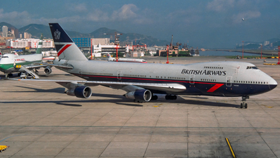 G-AWNN - Boeing 747-136 - British Airways