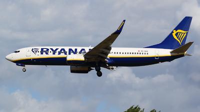 A picture of 9HQAX - Boeing 7378AS - Ryanair - © francesco della santa