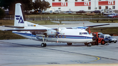EC-BOB - Fokker F27-500 Friendship - Aviaco