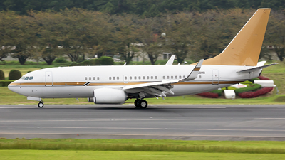 N930HB - Boeing 737-7ZH(BBJ) - Private