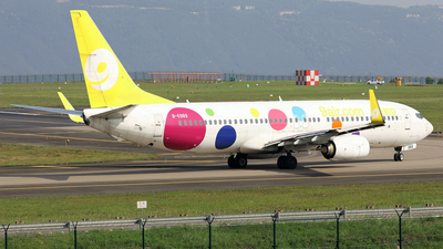 A picture of B6989 - Boeing 73786N - 9 Air - © diqin265