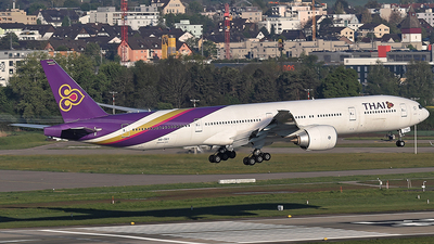 HS-TKY - Boeing 777-3D7(ER) - Thai Airways International