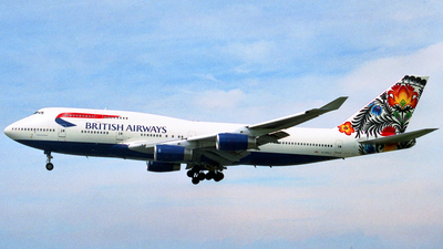 G-BNLT - Boeing 747-436 - British Airways