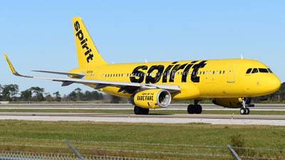 N693NK - Airbus A320-232 - Spirit Airlines