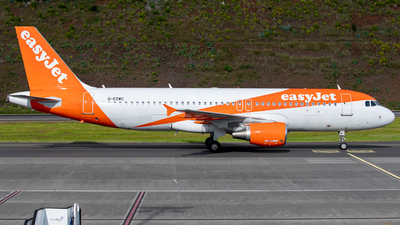 A picture of GEZWC - Airbus A320214 - easyJet - © Thomas A. Ferreira