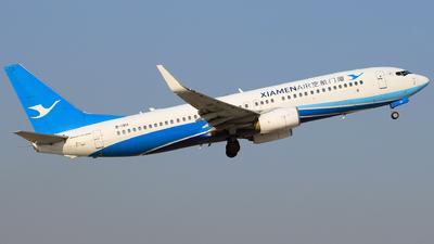 A picture of B1911 - Boeing 73785C - Xiamen Air - © Jinyuan LIU