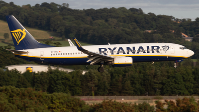 A picture of 9HQDE - Boeing 7378AS - Ryanair - © Luke Wilson 729