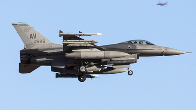 88-0526 - General Dynamics F-16CG Fighting Falcon - United States - US Air Force (USAF)