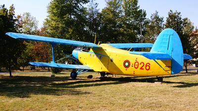 025 - PZL-Mielec An-2 - Bulgaria - Air Force