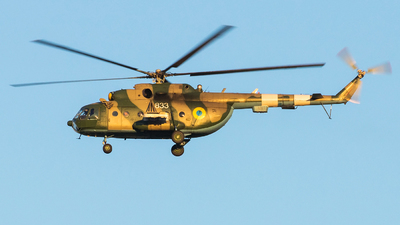 833 - Mil Mi-8MTV Hip - Ukraine - Air Force