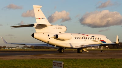 D-AGBH - Dassault Falcon 7X - VW Air Services