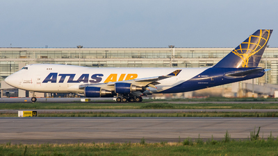 N492MC - Boeing 747-47UF(SCD) - Atlas Air