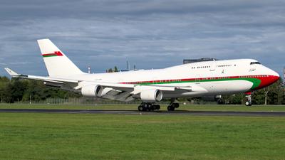 A4O-OMN - Boeing 747-430 - Oman - Royal Flight
