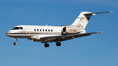LX-LOE - Hawker Beechcraft 4000 - FYL - Flying Group Luxembourg
