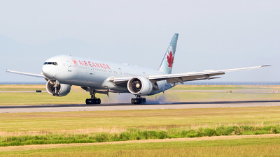 A picture of CFIVQ - Boeing 777333(ER) - Air Canada - © Dana Low