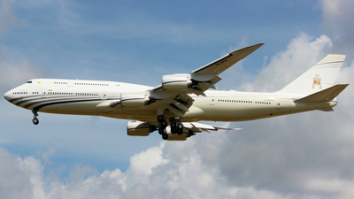 V8-BKH - Boeing 747-8LQ(BBJ) - Brunei - Sultan's Flight