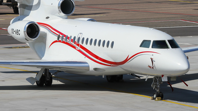OO-ABC - Dassault Falcon 7X - Private