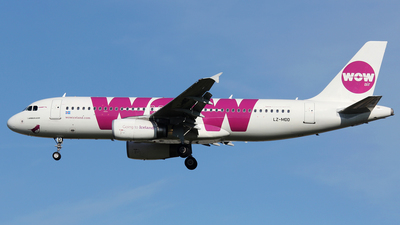 LZ-MDD - Airbus A320-232 - WOW Air