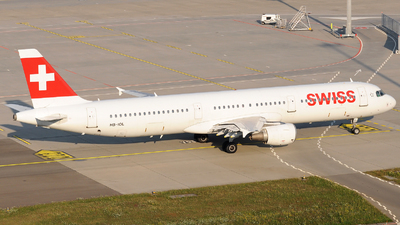 A picture of HBIOL - Airbus A321111 - Swiss - © Gabriele Fontana - Tuscan Aviation