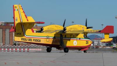I-DPCN - Canadair CL-415 - Italy - Vigili del Fuoco
