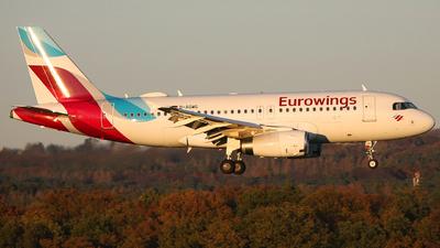 D-AGWG - Airbus A319-132 - Eurowings