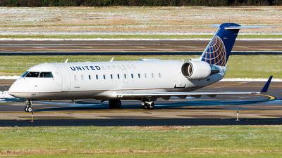 N468AW - Bombardier CRJ-200LR - United Express (Air Wisconsin)
