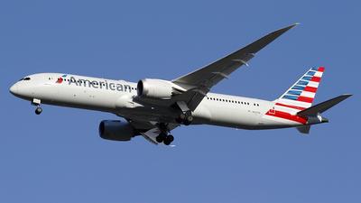 N827AN - Boeing 787-9 Dreamliner - American Airlines