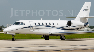 N680G - Cessna 680 Citation Sovereign - Private
