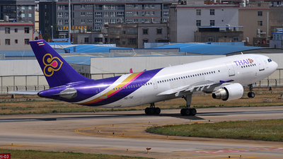 HS-TAT - Airbus A300B4-622R - Thai Airways International