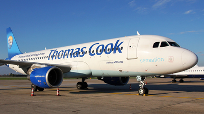 OO-TCO - Airbus A320-214 - Thomas Cook Airlines Belgium