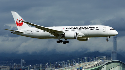 JA827J - Boeing 787-8 Dreamliner - Japan Airlines (JAL)